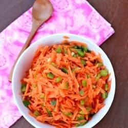 Carrot Bell Pepper Kosumalli / Salad