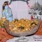 Kondai Kadalai Sundal | Chick Peas Sundal