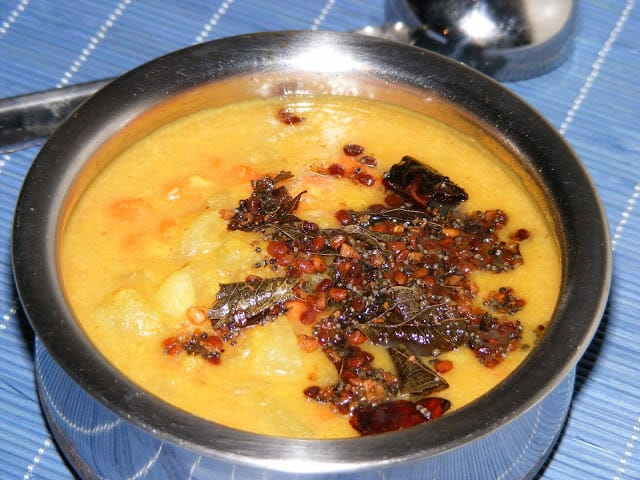 Chow-chow Carrot Kootu
