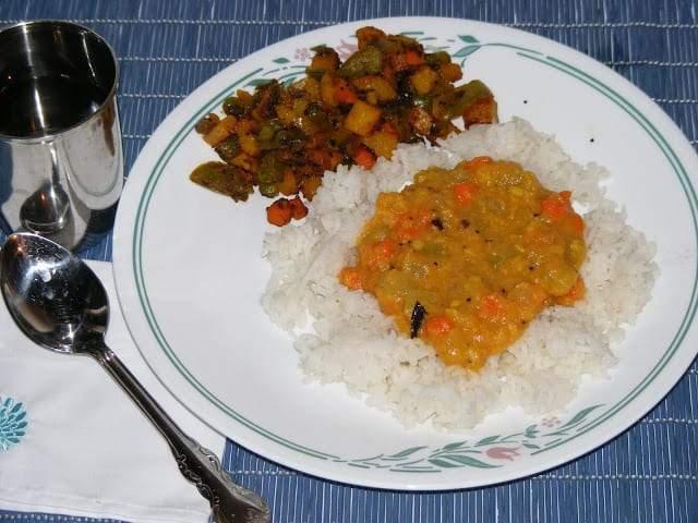 Chow Chow Carrot Kootu