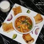Misal pav (Spiced curry with bread) A delightful Maharashtrian Street food – SNC # 3