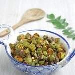 Okra Curry | Vendakkai Fry Recipe