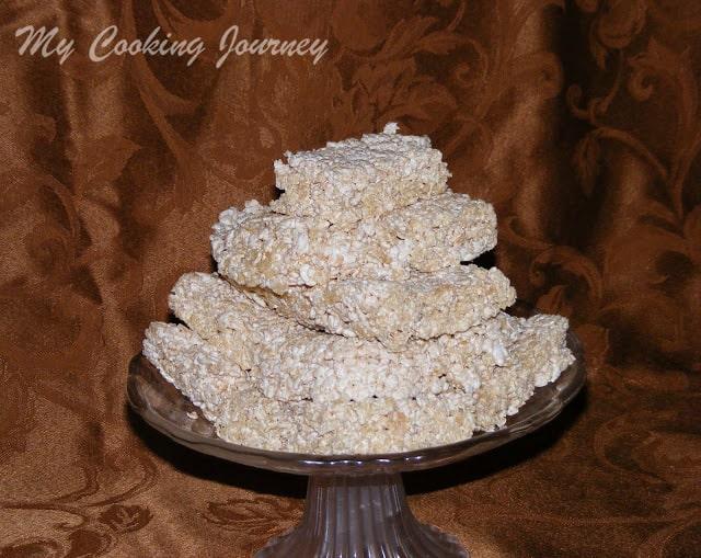 Rice krispie treats without Marshmallow 12
