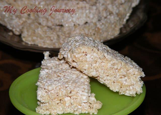 Rice krispie treats without Marshmallow 2