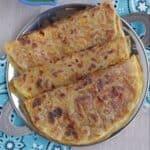 Lentil stuffed Puran poli
