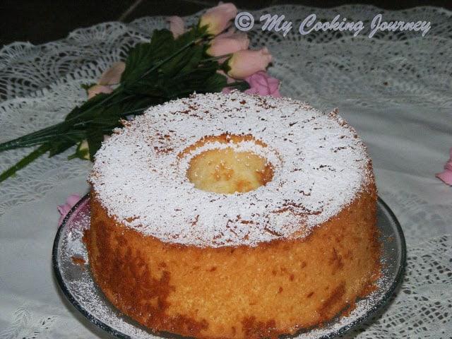 Lemon Glow chiffon cake 6