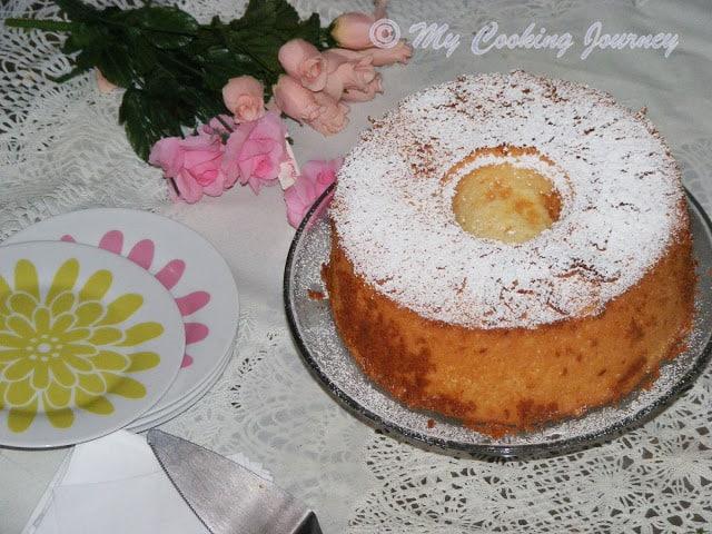 Lemon Glow chiffon cake 8
