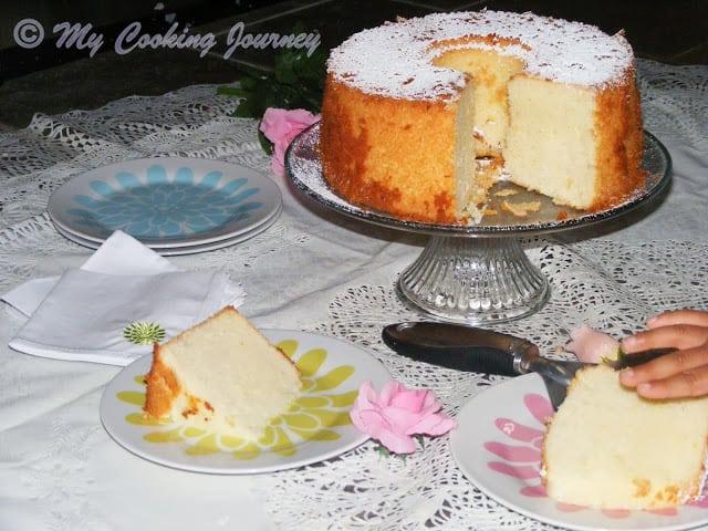 Lemon Glow chiffon cake 7