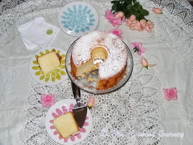 Lemon Glow chiffon cake 1
