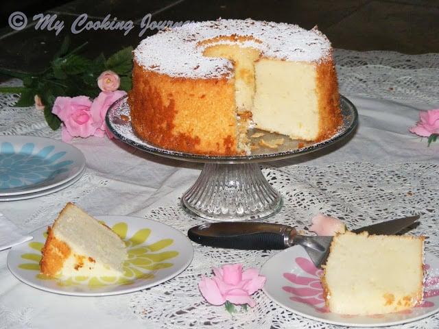 Lemon Glow chiffon cake 5