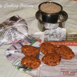 Masala Vadai Tea Kadai Style