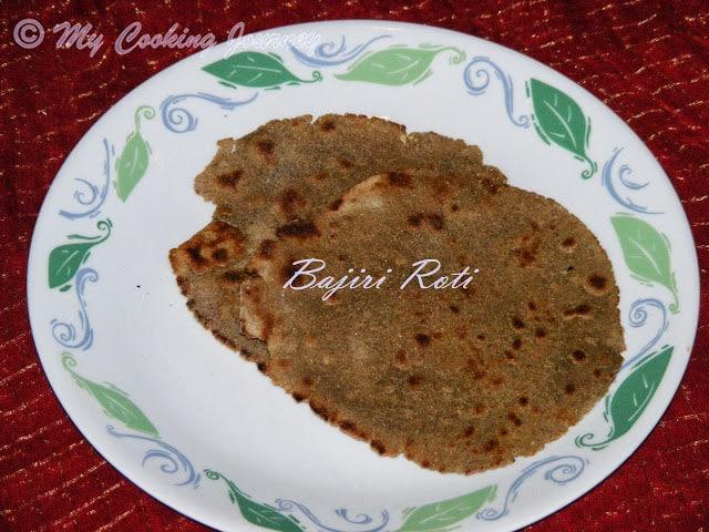 Rajasthani Thali Bajiri ki Roti %%