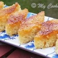 Honey Drizzled Semolina Cake