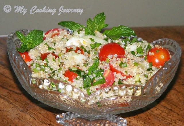 Quinoa Tabbouleh – BM # 32
