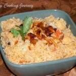 Cauliflower Dum Biriyani | Gobhi Dum Biriyani