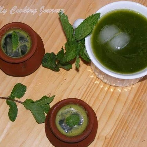 Mint Juice | Pudina Sherbet
