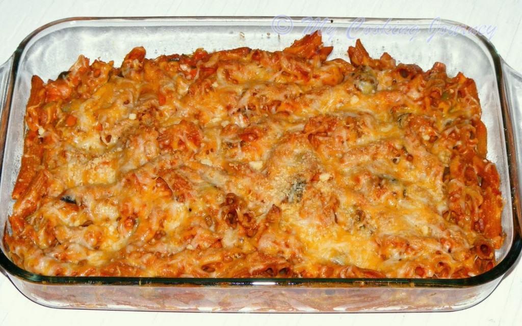 Baked Vegetable pasta %%
