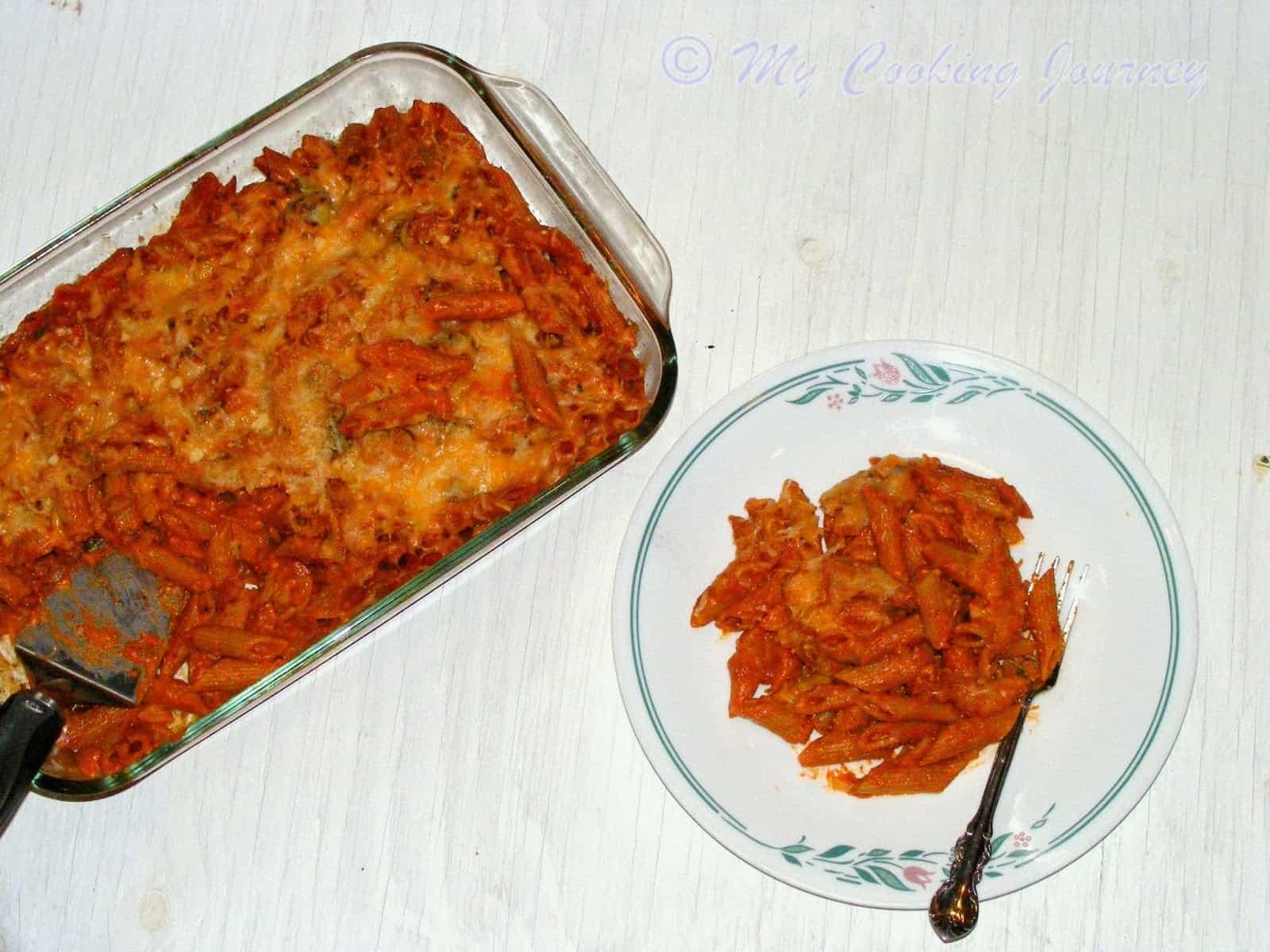 Baked Vegetable Pasta