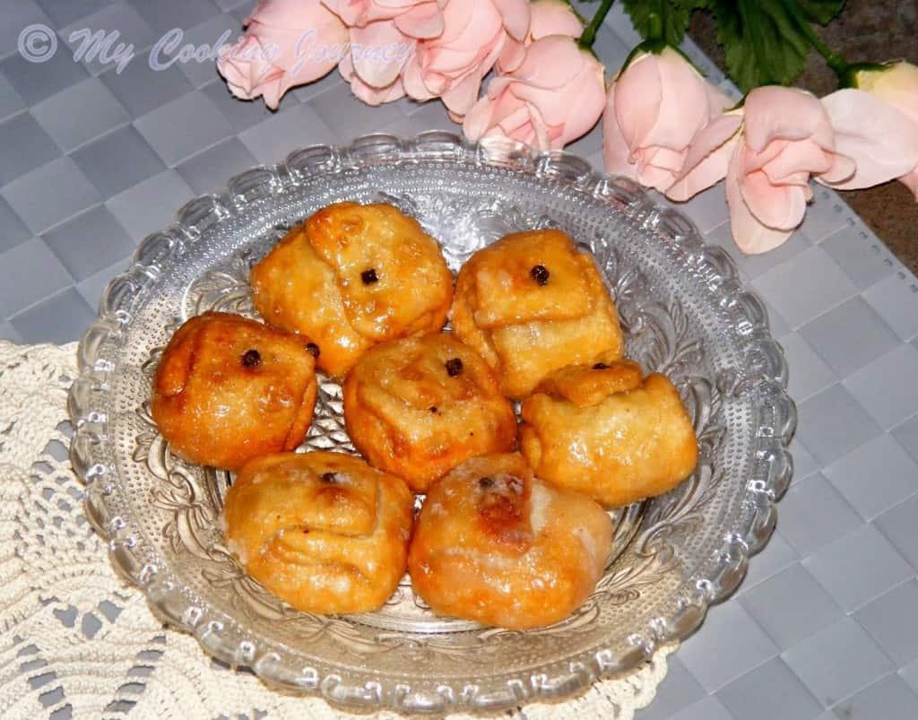 Labong Latika in plate