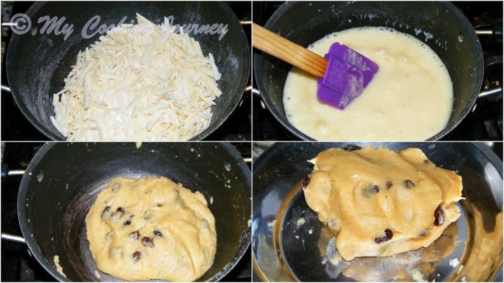 Preparing Labongo Latika filling