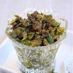 Hari Mirch ke Tipore | Green Chili Pickle