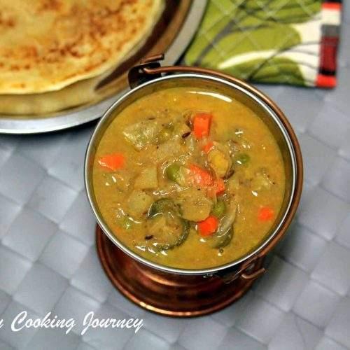 Chettinadu Vegetable Kurma