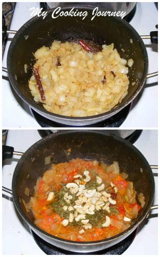 Gobhi Butter masala