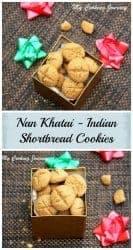 NanKhatai Indian Shortbread Cookies Pininterest Image