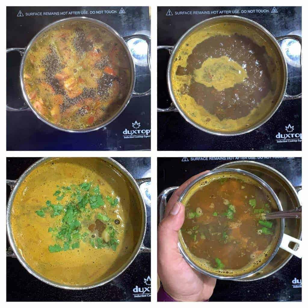 Soup boiling