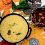 Maambazham Morkuzhambu - Mango Buttermilk Stew