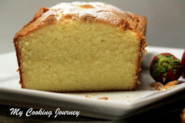Vanilla Pound Cake – Elvis Presley's Favorite Pound Cake
