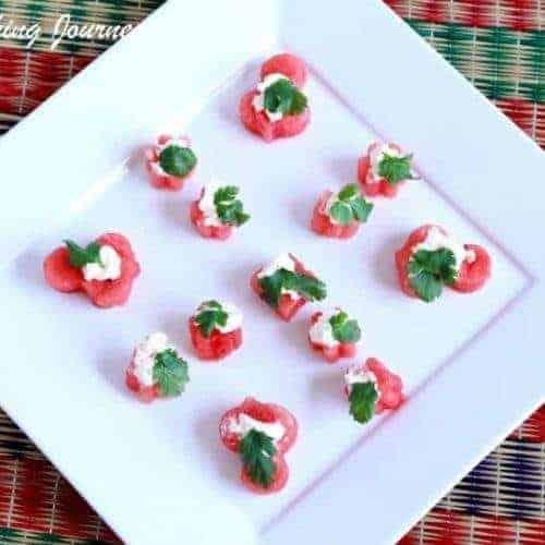 Watermelon Savory Bites