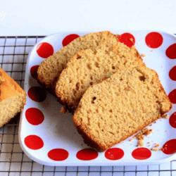 Honey Nut Bread With Orange Zest in a Plate