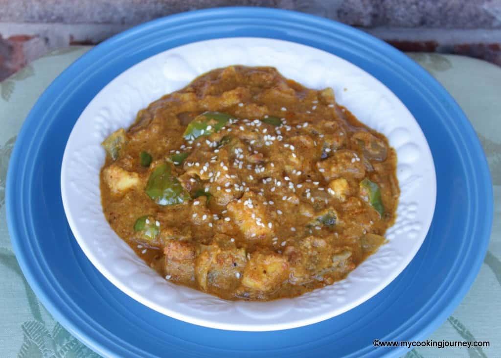Hyderabadi Paneer