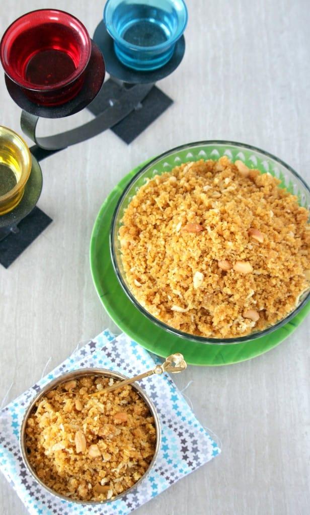 How to make Diwali special Ukkarai - Okkarai