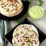 Onion Oothappam | Onion Uthappam