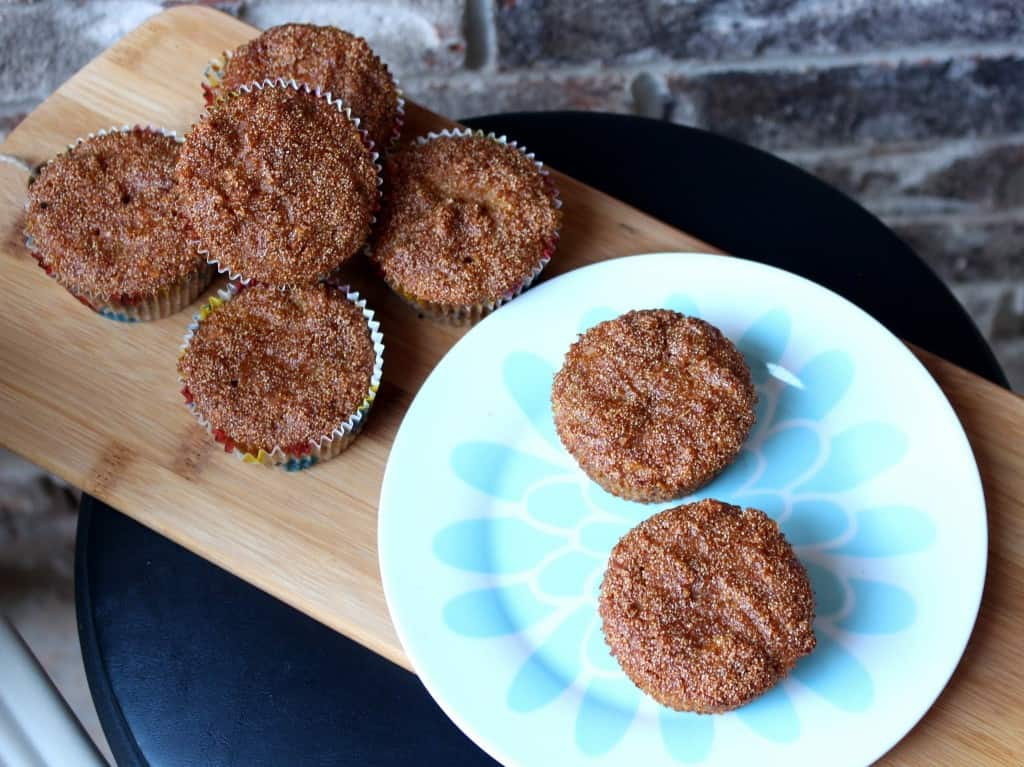 Jackfruit Semolina Muffins