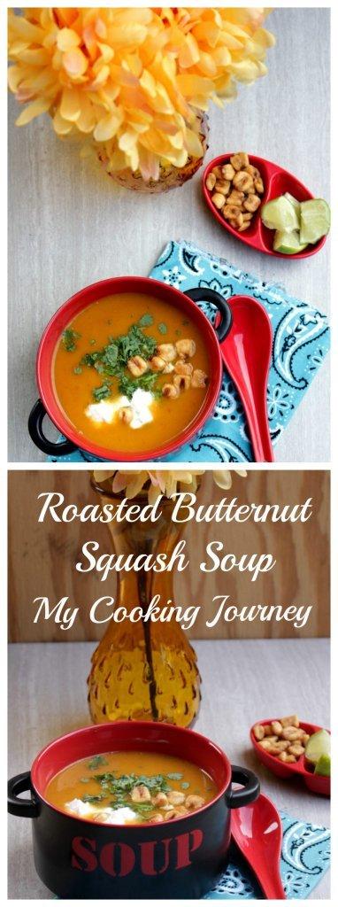 Roasted Butternut Sqaush Soup