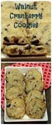 cranberry walnut cookies pinterest image