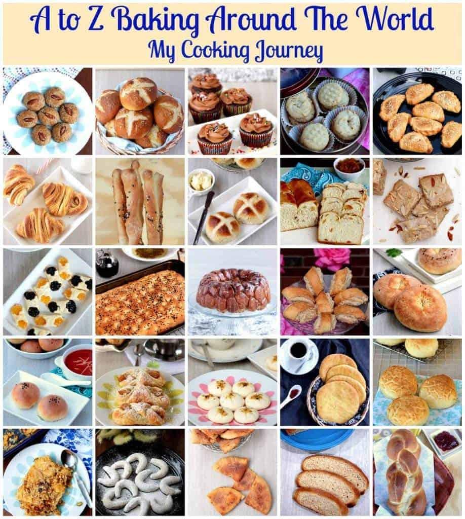Recap of A-Z Baking Around the World