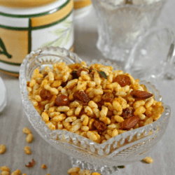 Kara Pori Mixture | Murmure Mixture | Spiced Puffed Rice Mixture