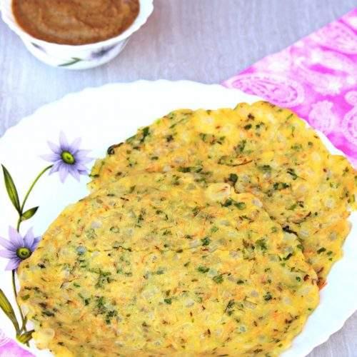 Akki Roti | Karnataka Akki Roti | Rice Flour Roti