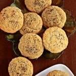 lemon chia seeds muffin