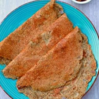 Quinoa Brown Rice Adai | Vegan And Gluten Free Crepes