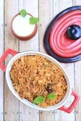 Simple Cabbage Biriyani   Spiced Cabbage Rice