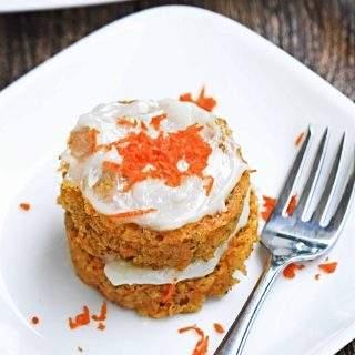 Single Serve Microwave Carrot Cake Recipe