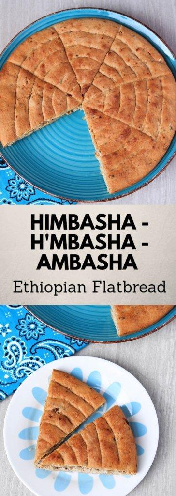Himbasha | H'mbasha | Ambasha | Ethiopian Flatbread