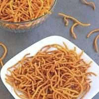 Aloo Bhujia | Potato and Gram flour Sev