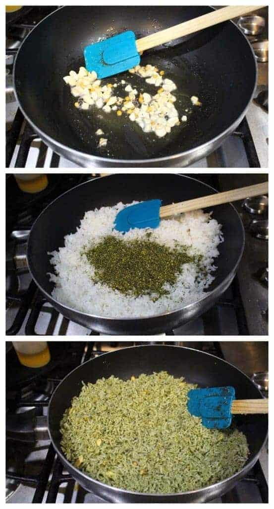 Karuveppilai Sadam | Spiced Curry Leaves Rice
