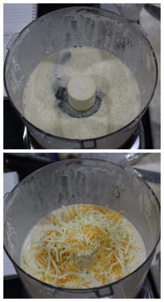 batter made in food processor